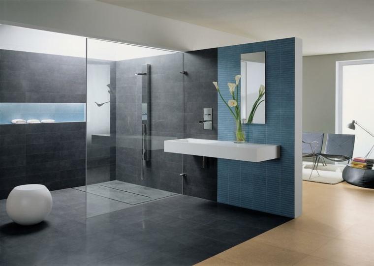 decoration-salle-de-bain-toilettes-zen-interieur-gris - Sanitär Haase